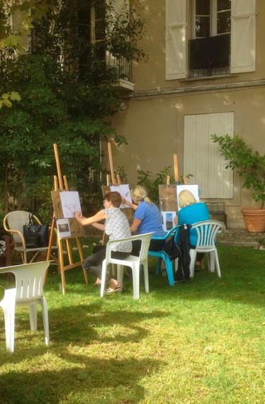 Bastide de la Traverse Aix - Peinture