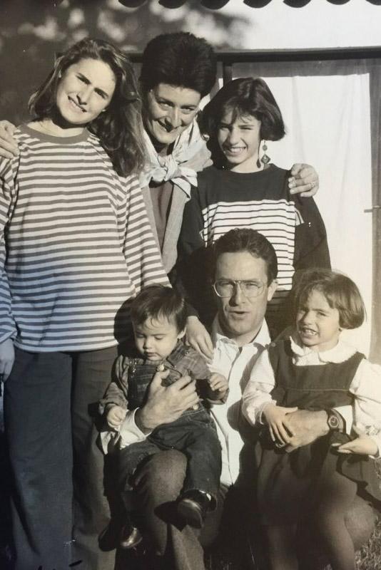 Bastide de la Traverse Aix - Famille 1989