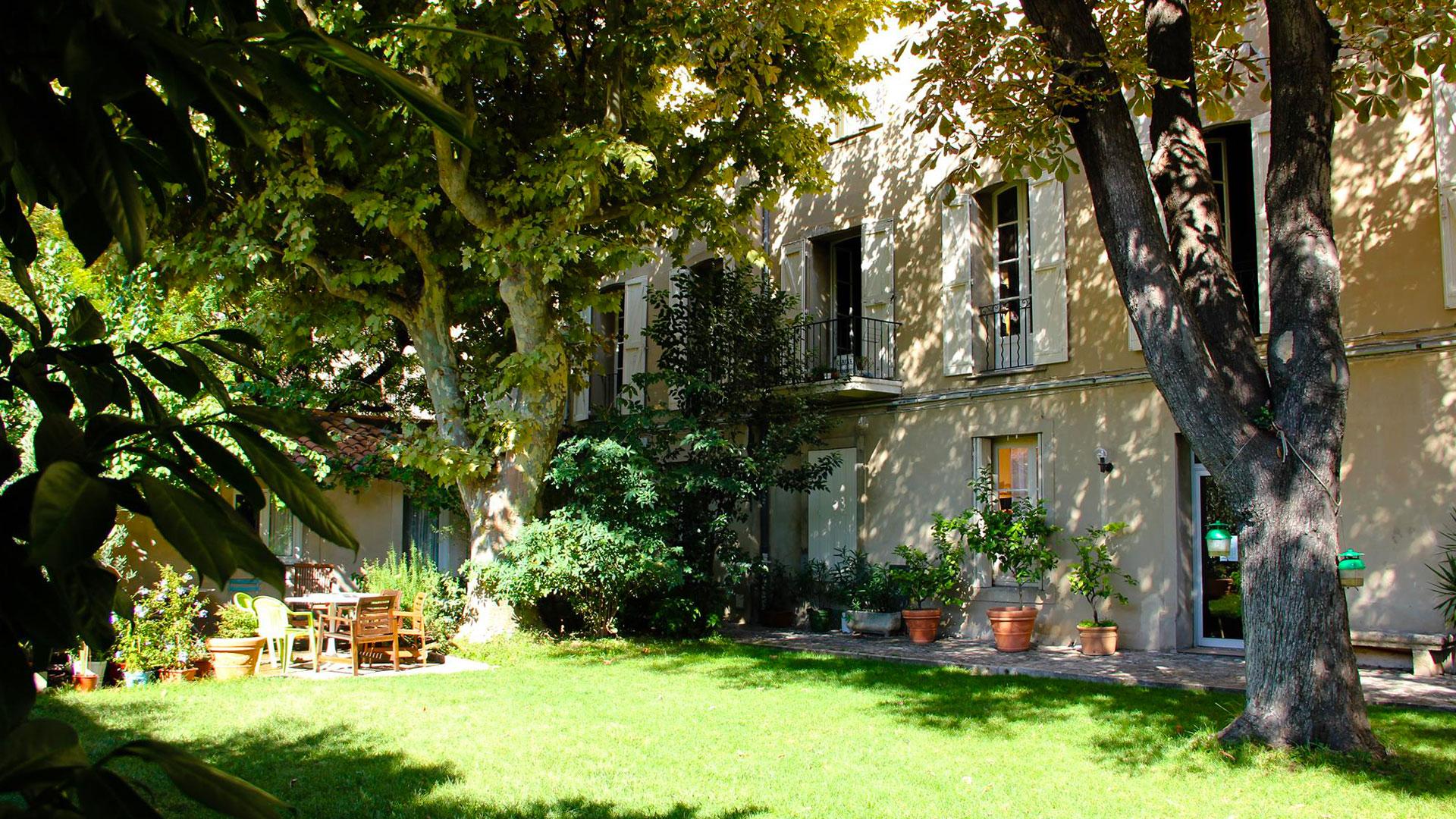 Bastide de la Traverse Aix - Bâtiment Jardin